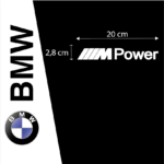 Kit Pegatinas BMW MPower