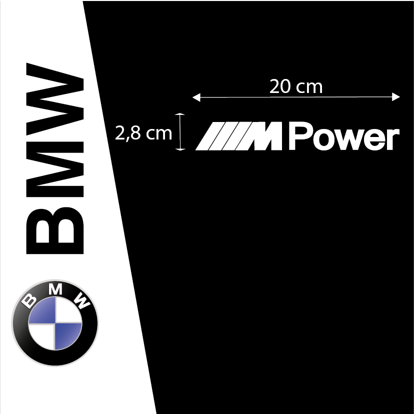 Kit Pegatinas BMW MPower