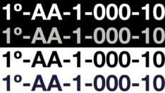 Matrículas de barco personalizadas de calidad