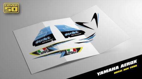 Kit Adhesivos Yamaha Aerox Rossi AGV 96'