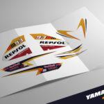 Kit Adhesivos Yamaha Aerox Repsol Marquez 20'