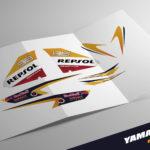Kit Adhesivos Yamaha Aerox Repsol Loreno 20'