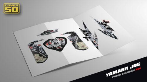 Kit Adhesivos Yamaha Jog - Pablo Escobar Rojo