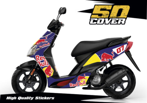 Pegatinas Yamaha Jog - Red Bull